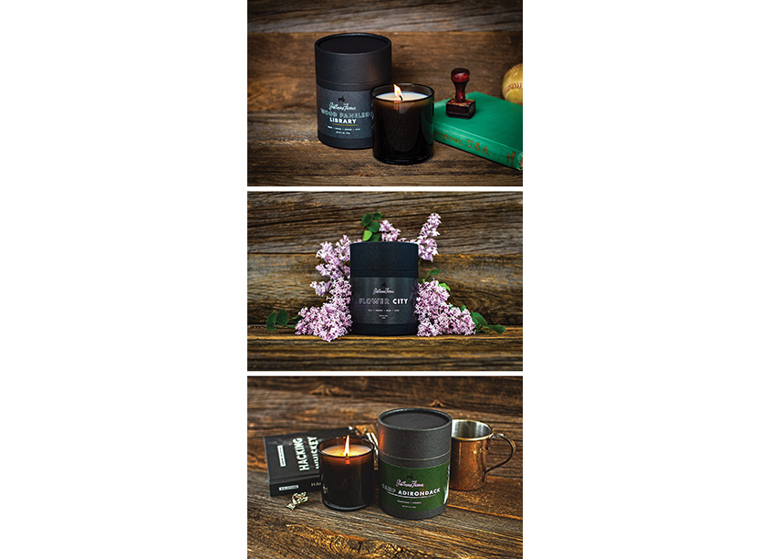 Gentleman Farmer Candle Series by Initial Here Creative Services