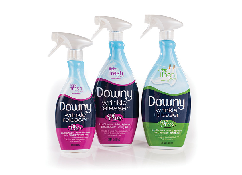 Downy Wrinkle Releaser Redesign by Ionic Communications Group