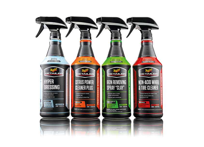 Ready-To-Use Detailer Products by Meguiar's Design Center