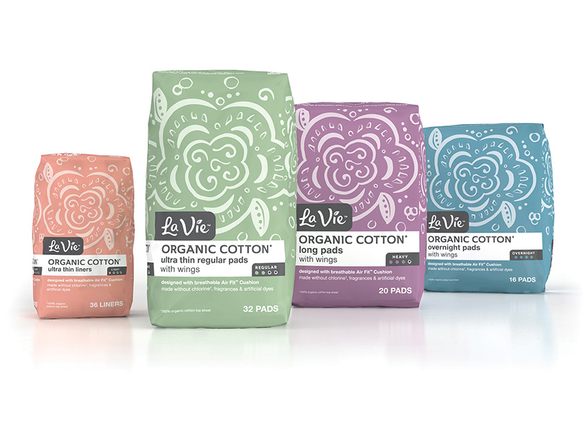 La Vie Package Design by COHO Creative