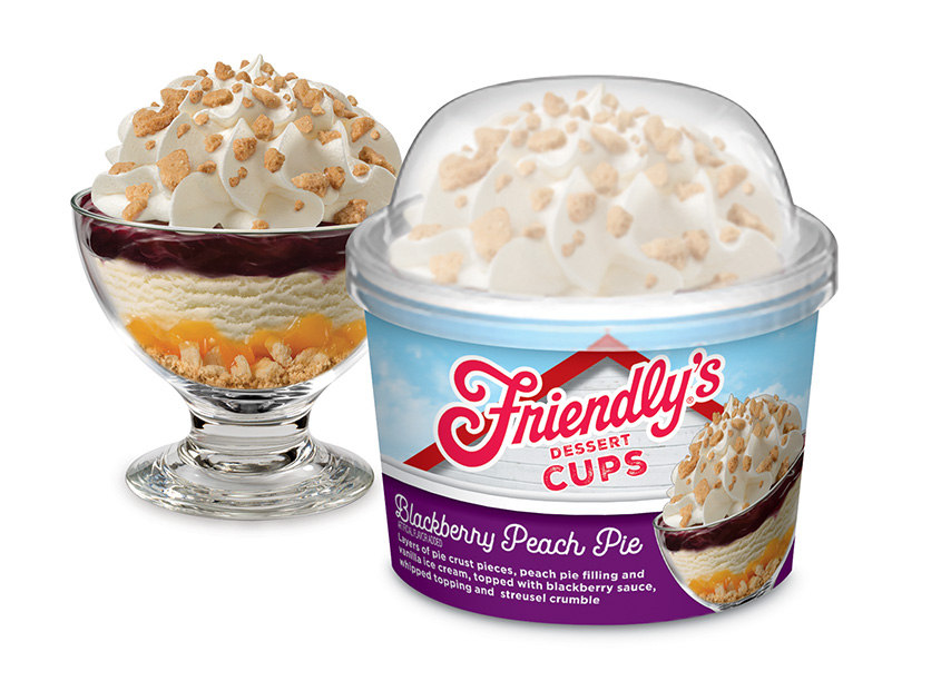 Friendly's Dessert Cups by Stapley-Hildebrand