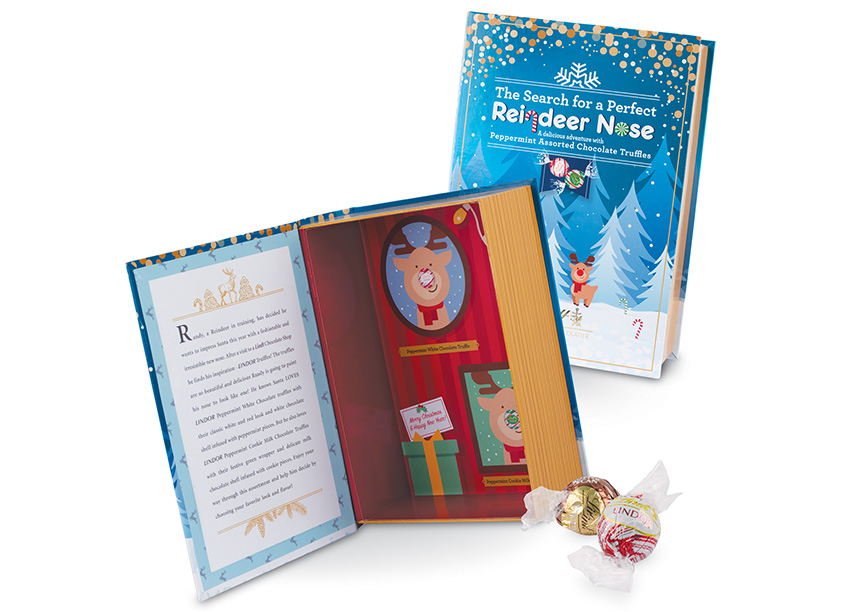 Lindor Holiday Story Book by Stapley-Hildebrand