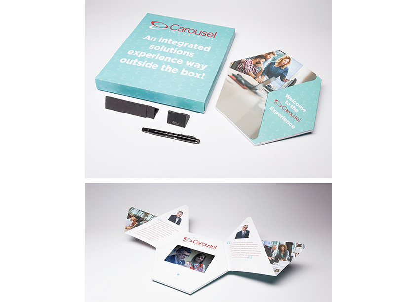 Carousel Industries Hexagon Video Mailer by Red Paper Plane