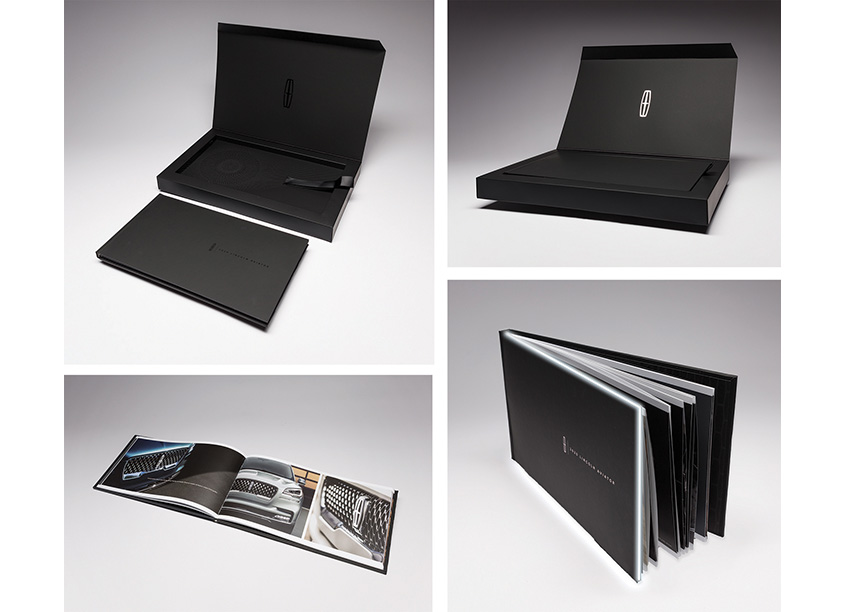 Structural Graphics Lincoln Aviator Music Box With LED Lights and Hardcover Bound Book