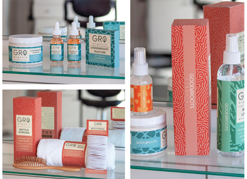 GRO Organic Haircare by University of Central Oklahoma, School of Design