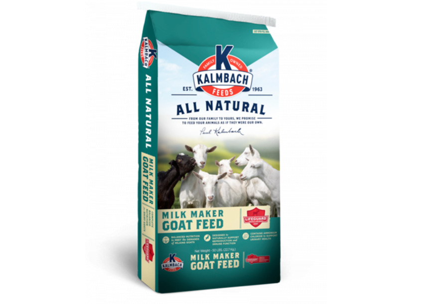 All Natural Milk Maker Goat Feeds by ProAmpac Holdings, Inc.