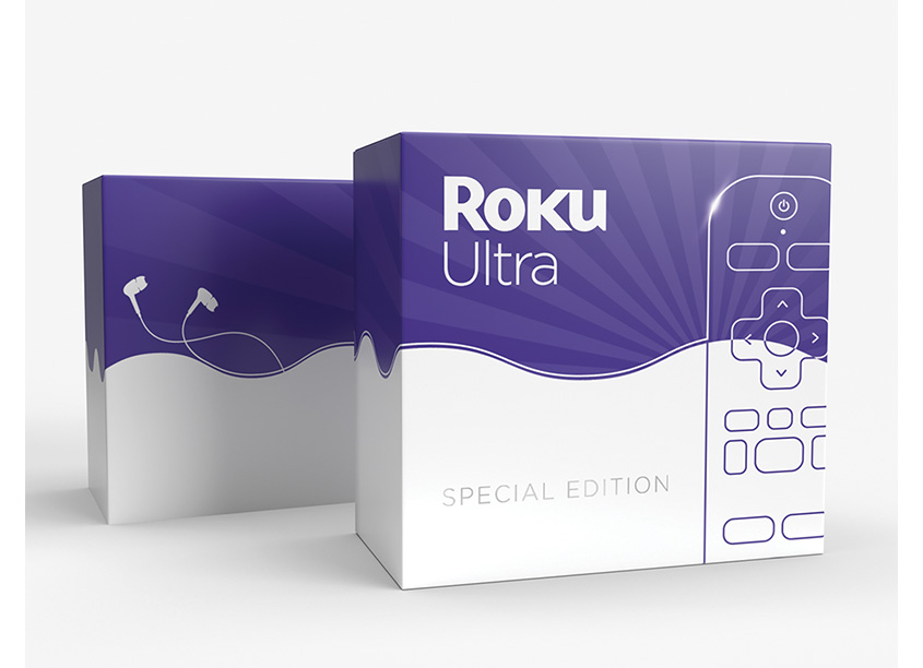ROKU Special Edition Promotional Packaging by Miskowski Design