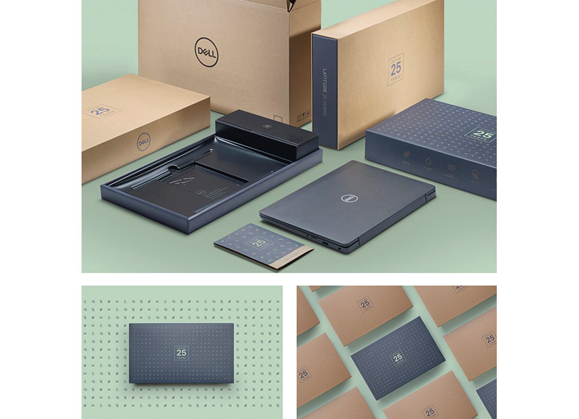 Dell Latitude 25th Anniversary Packaging by Dell Technologies, Experience Innovation Group