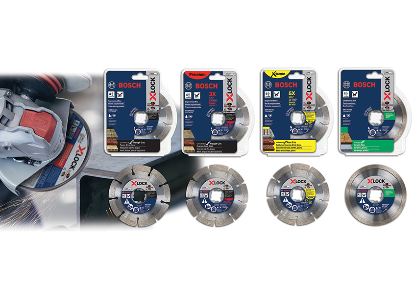 Bosch X-Lock Grinder Diamond Blade Packages by Robert Bosch Tool Corporation