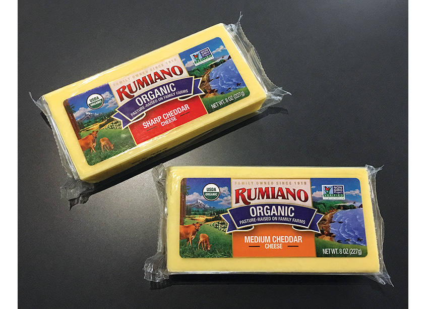 Rumiano Cheese Organic Blocks by Gauger + Associates