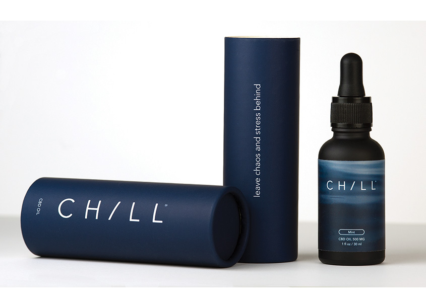Chill CBD Packaging by Liska + Associates