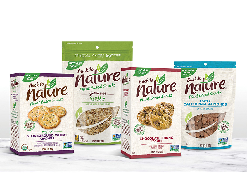 Back To Nature Brand Identity and Package Design by The Biondo Group, Inc.