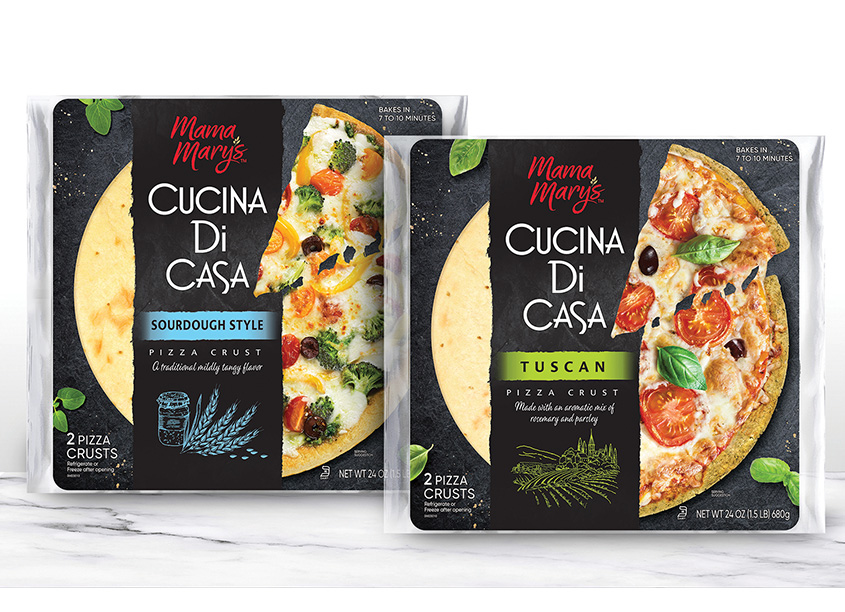 Mama Mary's Cucina Di Casa Rebrand and Package Design by The Biondo Group, Inc.