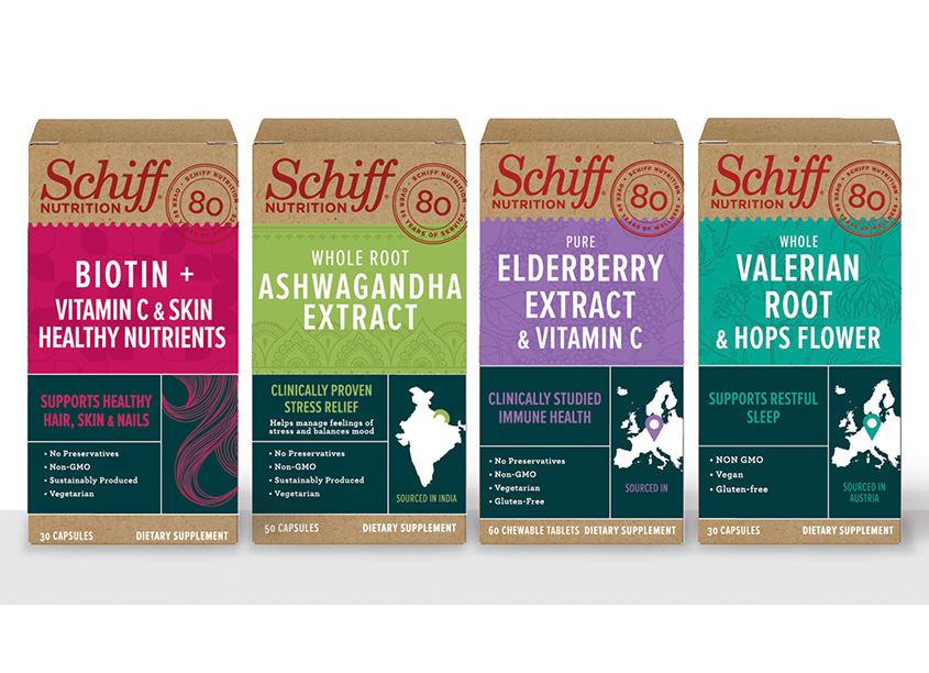 Eleven Schiff Nutrition Dietary Supplements
