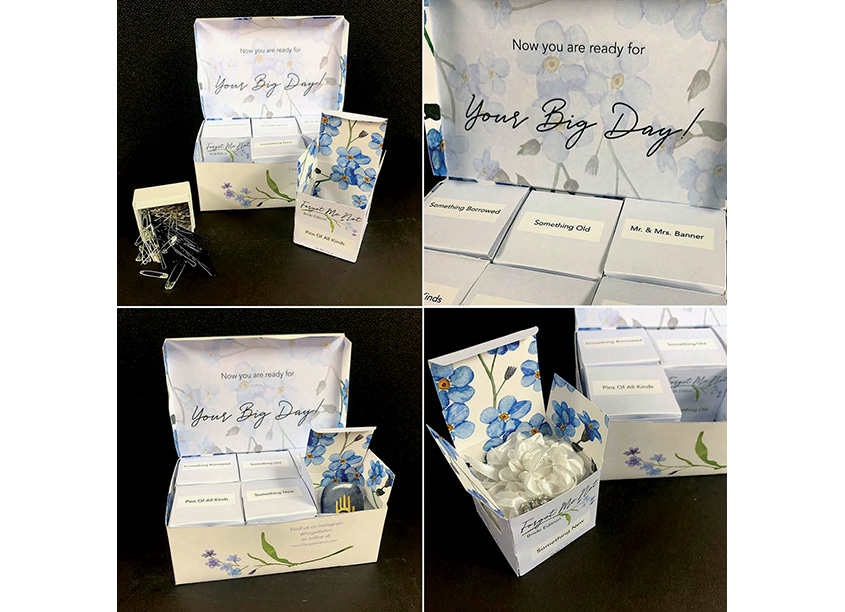 Forget Me Not - Bridal Day Essentials by Kennesaw State University/School of Art & Design