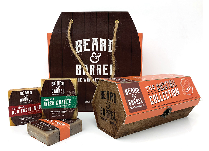 Beard & Barrel - The Whiskey Soap Co. - The Cocktail Collection by Kennesaw State University/School of Art & Design