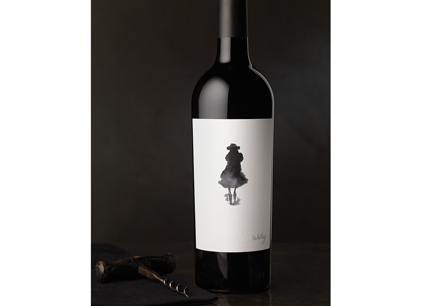 Lail Vineyards Welly by CF Napa Brand Design