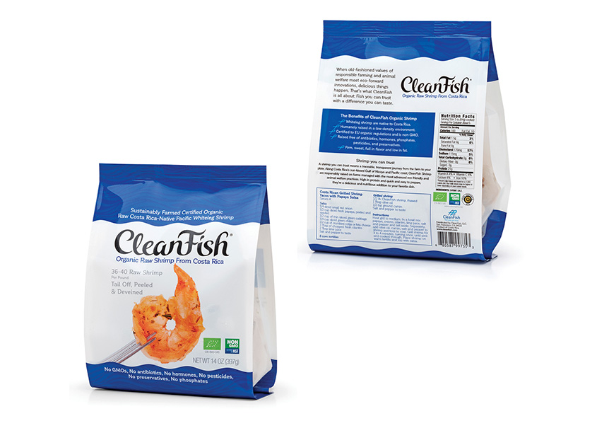 Mark Oliver Inc. CleanFish Organic Shrimp