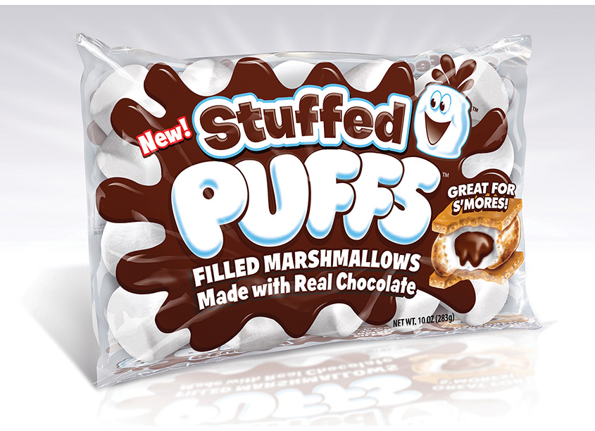 Stuffed Puffs Packaging by Pig Pen Studios