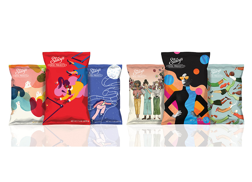 Stacy's Rise Project 2019 Limited Edition Bags  by PepsiCo Design & Innovation