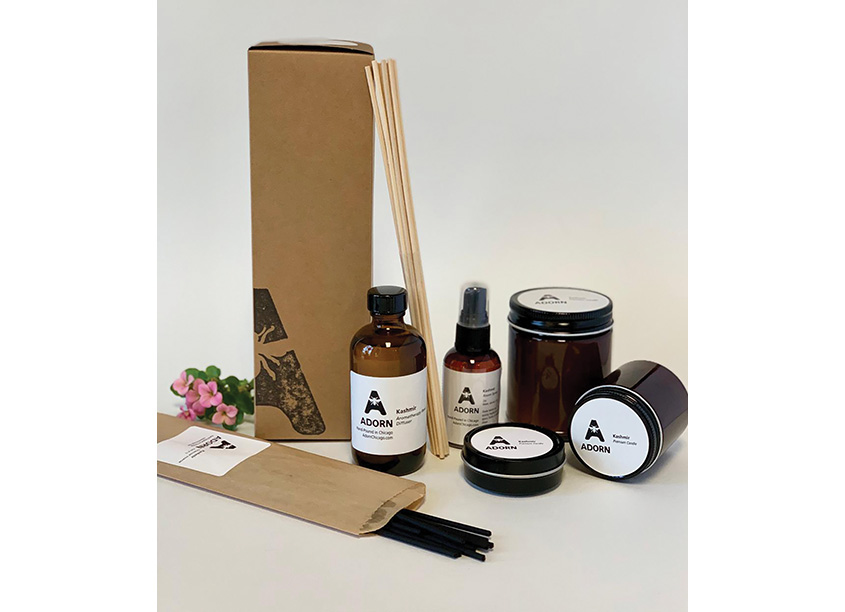 Adorn Packaging by Richard Zeid Design