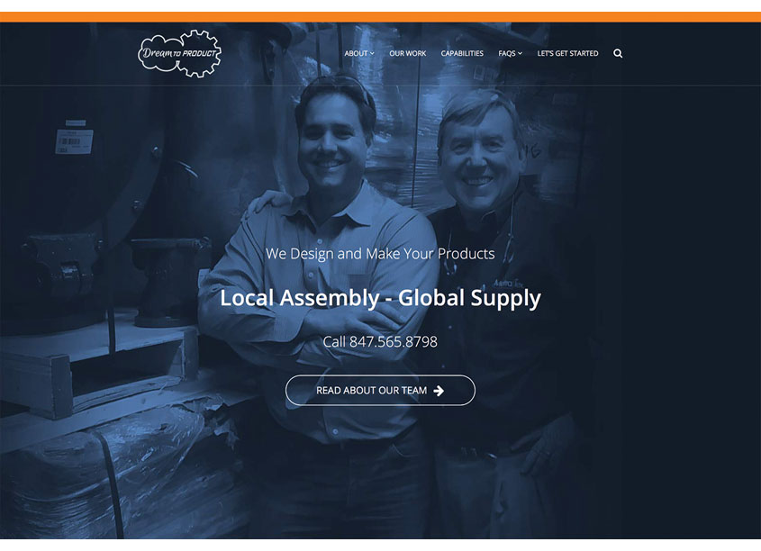 Stephen B. Starr Design  Dream To Product Website