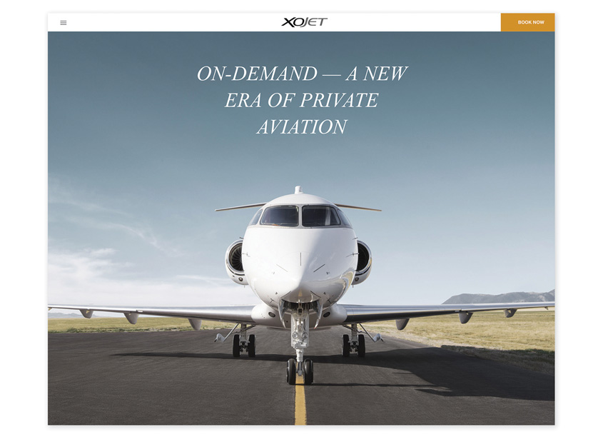 FINE  XOJET Website