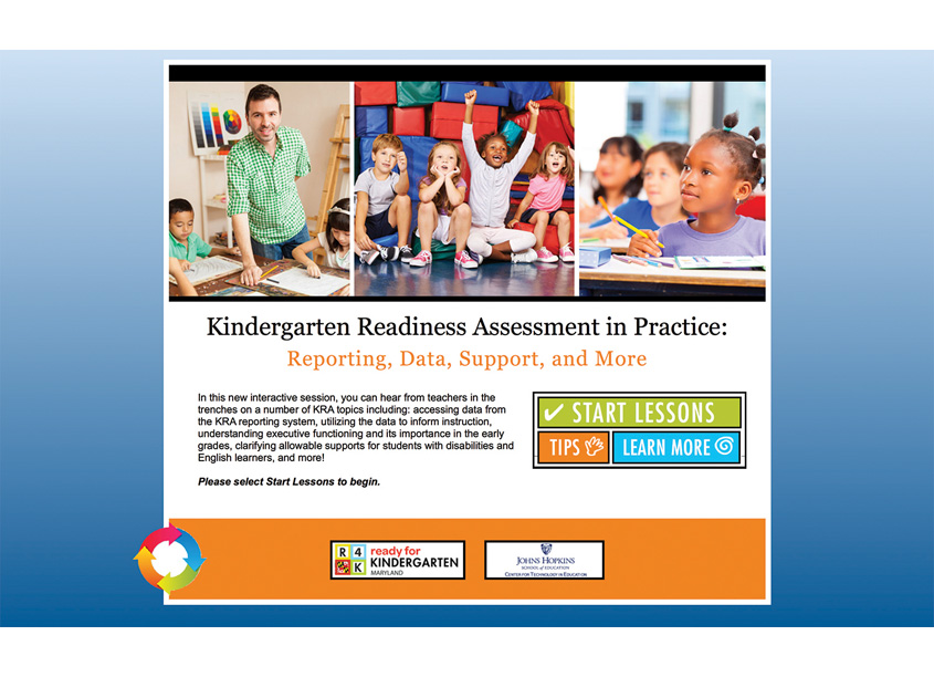 Six Ink  Kindergarten Readiness Assessment in Practice Website