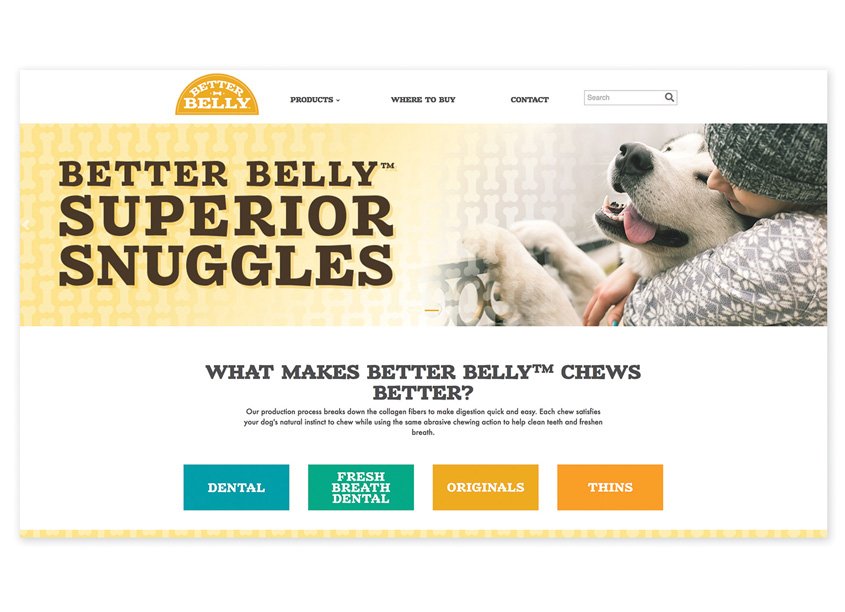 Spectrum Brands - Pet, Home & Garden Division  Better Belly™ Website