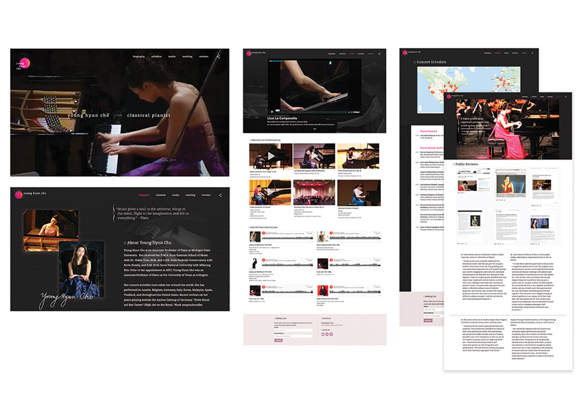 MiHyun Kim  Young Hyun Cho, Classical Pianist, Website