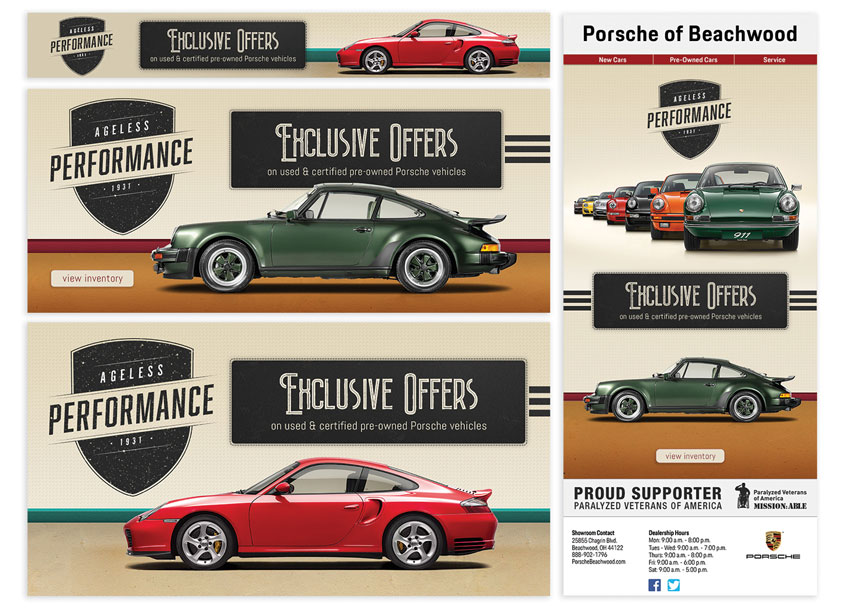 Ritz Marketing  Porsche Ageless Performance