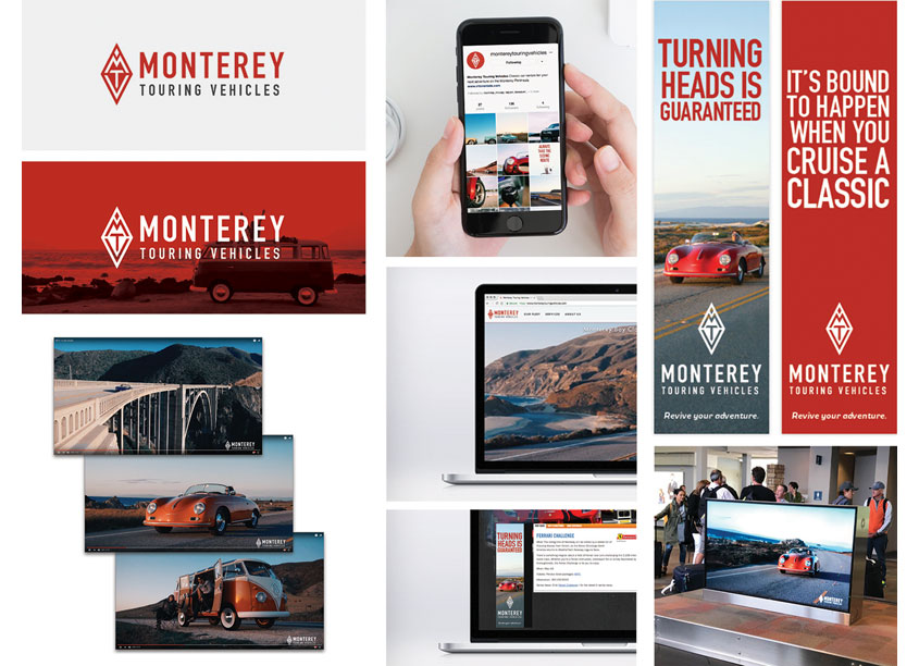 McCAY DESIGN  Monterey Touring Vehicles Promotional Campaign
