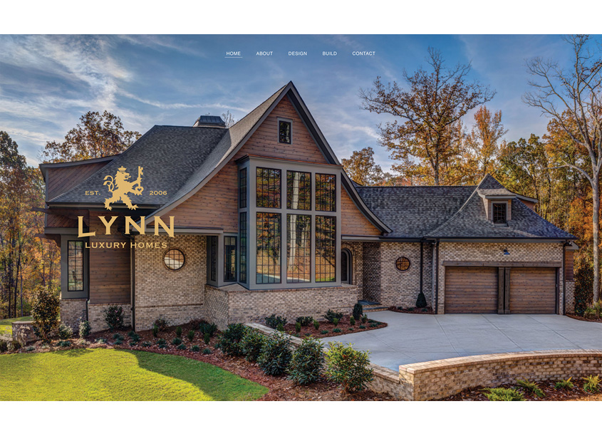 Metropolis Branding  Lynn Luxury Homes Website