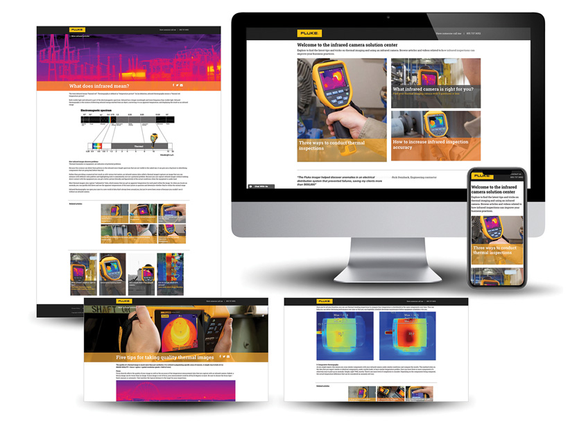 Fluke Corporation  Fluke Infrared Camera Solution Center