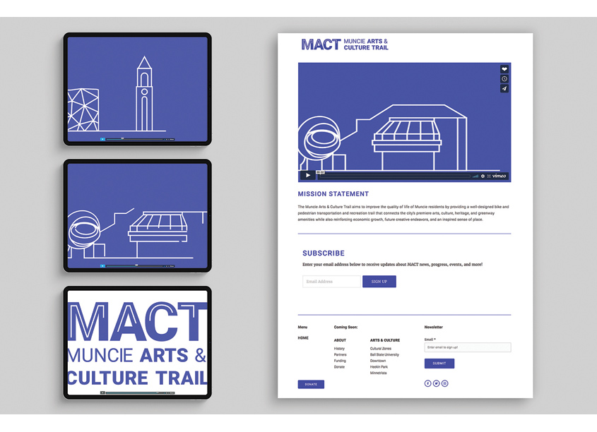 MACT Motion Graphics by Studio 165+ | Ball State University School of Art