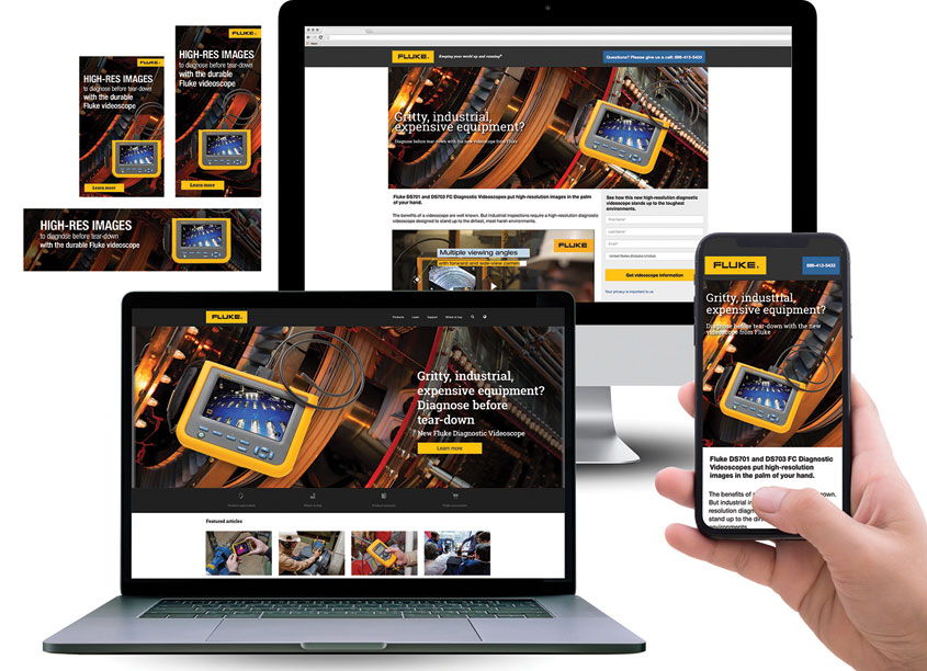Fluke Diagnostic Videoscope Launch Campaign by Fluke Corporation