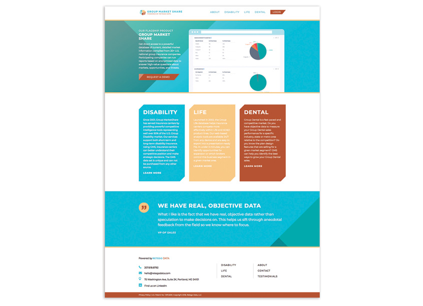 Corporate and Product Website Design by Visible Logic