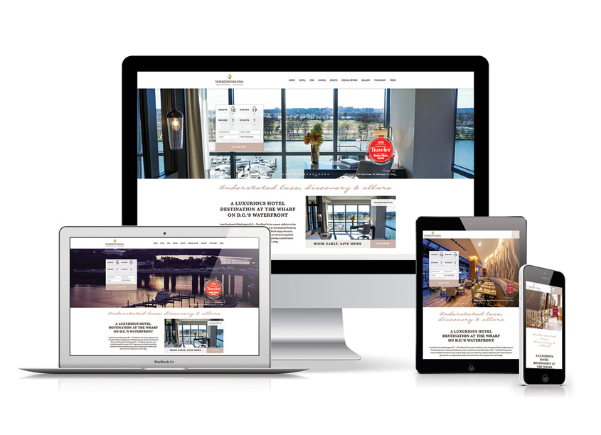 QNY Creative InterContinental Wharf Website