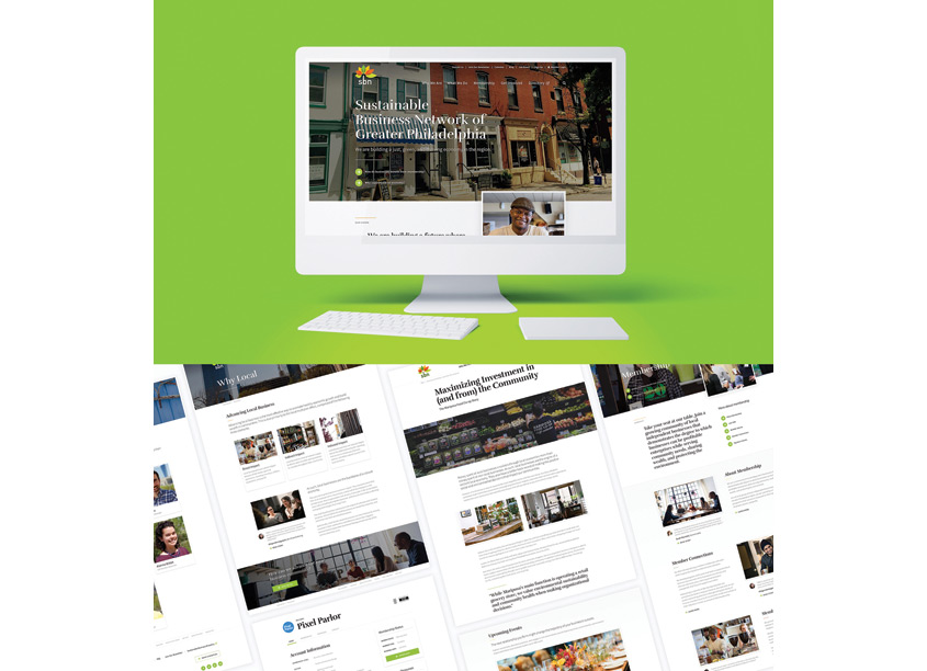 SBN Philadelphia Website by Pixel Parlor