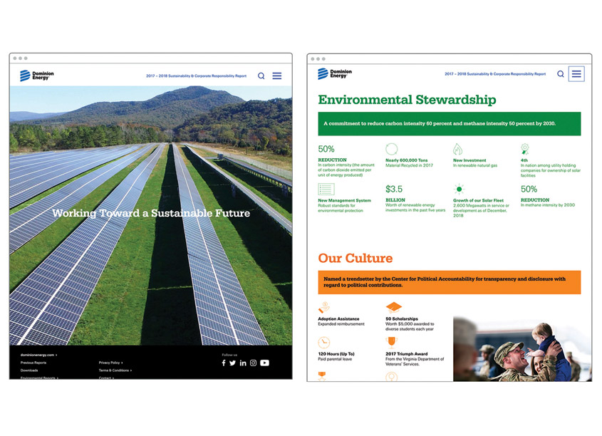 Ideas On Purpose Sustainability and Corporate Responsibility Report Website