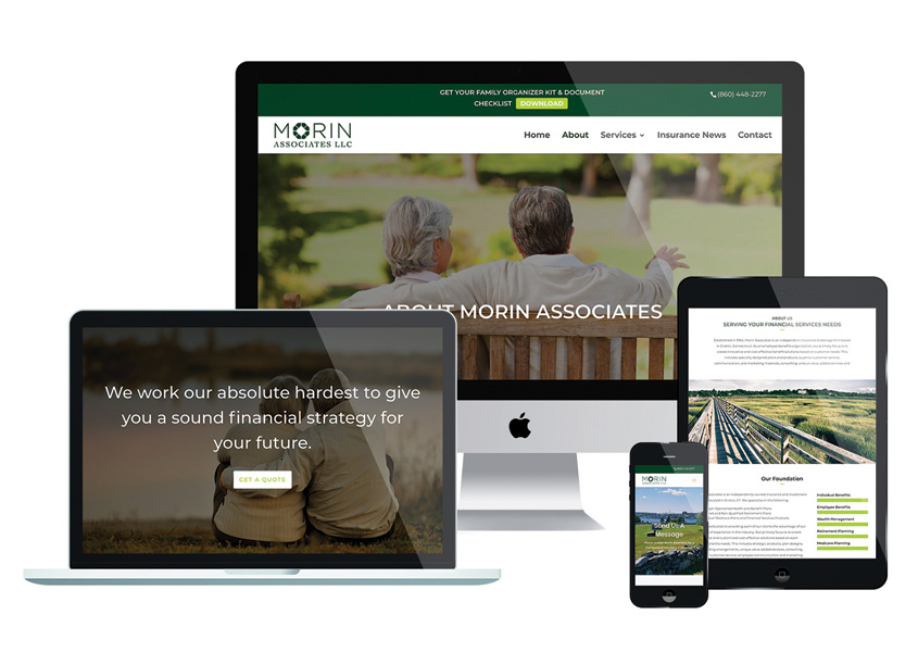 Morin Associates Website by DMI Marketing, Inc.