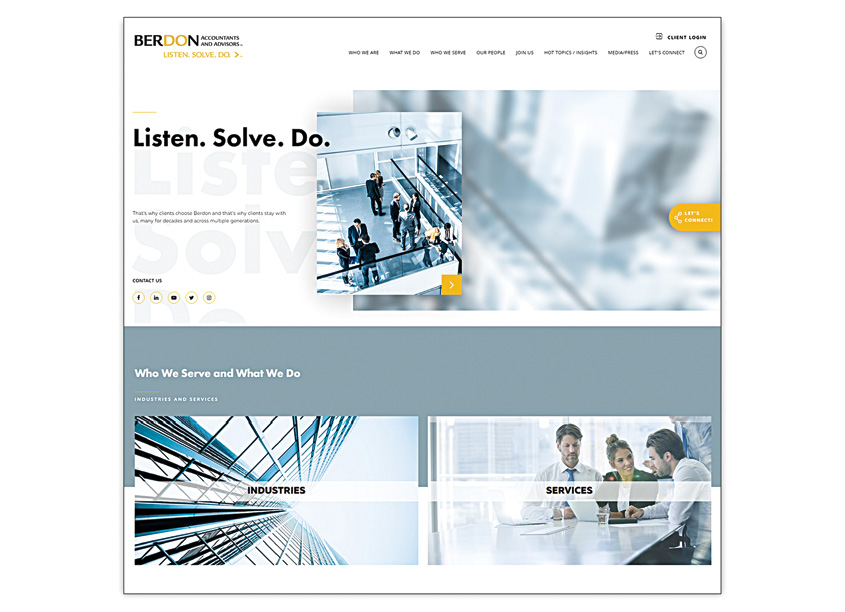 BERDON LLP - LISTEN. SOLVE. DO. by BERDON LLP Accountants and Advisors