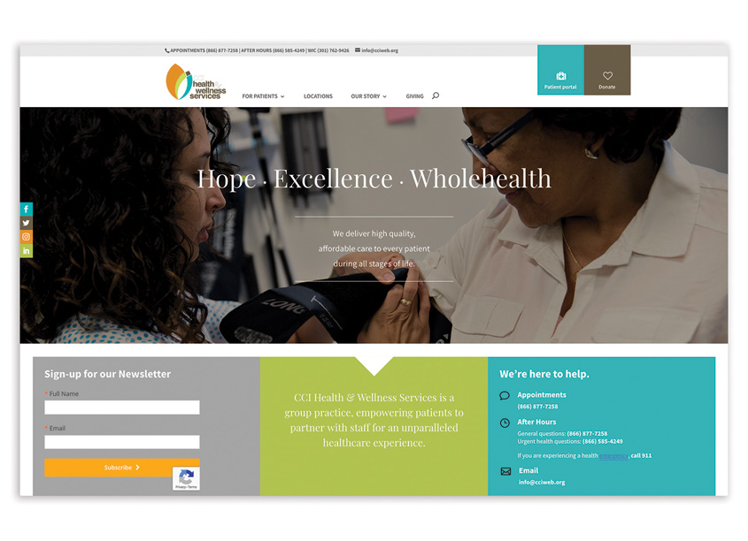 CCI Health & Wellness Services CCI Health & Wellness Services Website