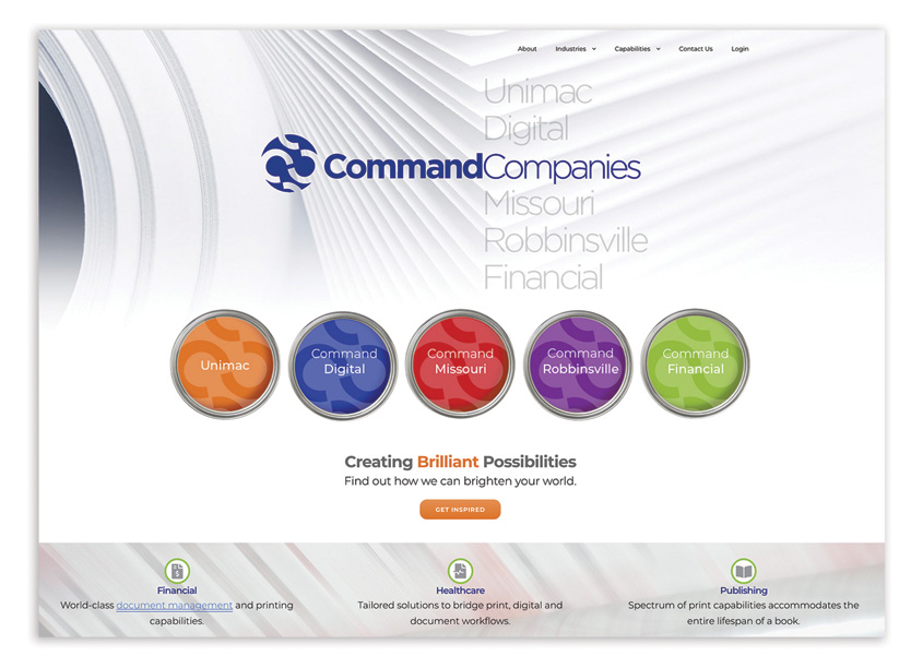 Command Companies, Powered As One by Bonavita Design