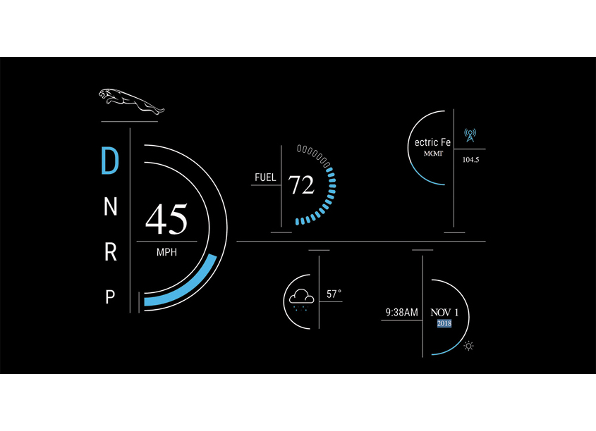 Drexel University, Westphal College of Media Arts & Design, Grap Car Dashboard User Experience Design