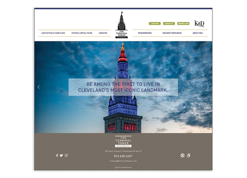 Karen Skunta & Company The Terminal Tower Residences Website