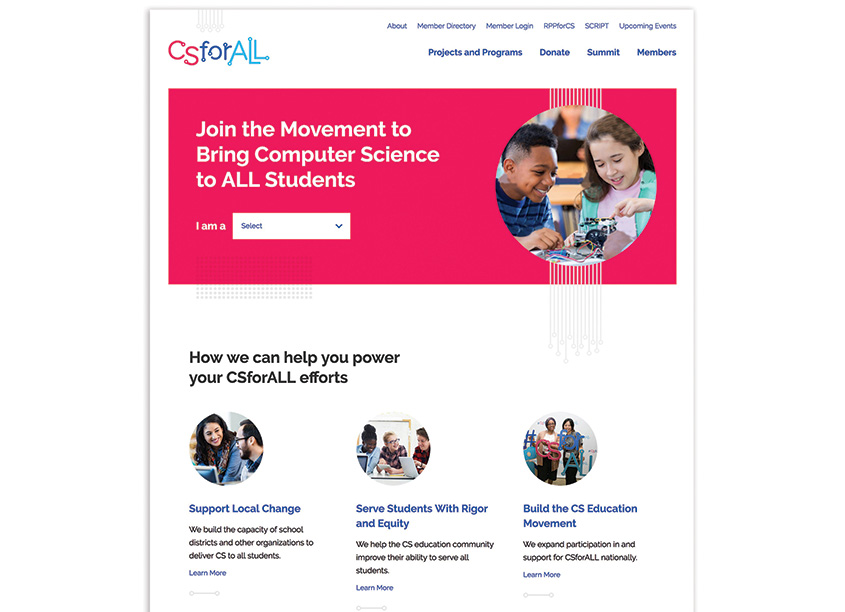 CSForAll Website by MOD-Lab