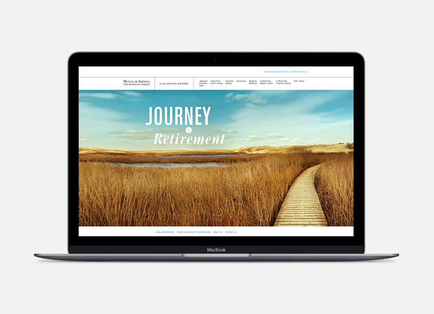 2018 Annual Report Online - Journey to Retirement by Decker Design