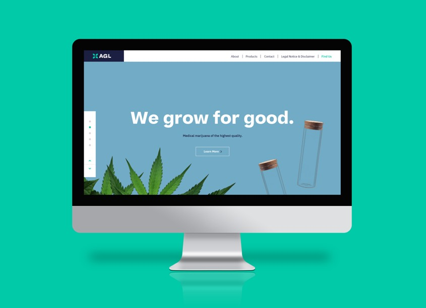 AGL Website by Marine Lane