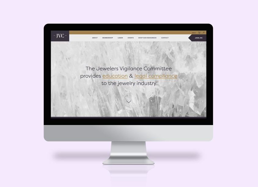 JVC Website by Marine Lane